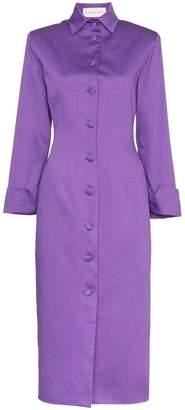 DAY Birger et Mikkelsen Aleksandre Akhalkatsishvili button-detail cotton coat dress