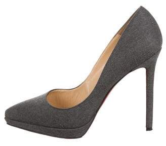 83a15d187758 Christian Louboutin Pigalle Plato Pointed Pumps