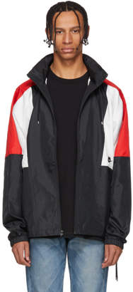 Nike Black and Red Re-Issue Woven Jacket