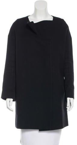 Chloé Chloé Wool Cocoon Coat