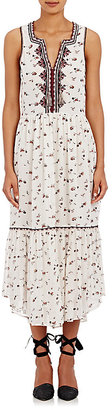 Ulla Johnson ULLA JOHNSON WOMEN'S EMBROIDERED CHIFFON LEENA MIDI-DRESS $600 thestylecure.com