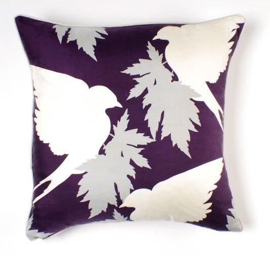Thomas Paul Swallows Silk Twill Pillow