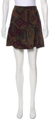 Kenzo Silk Mini Skirt w/ Tags