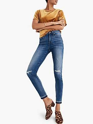 Madewell 9 High-Rise Skinny Jeans, York Wash