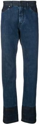 Lanvin contrast jeans