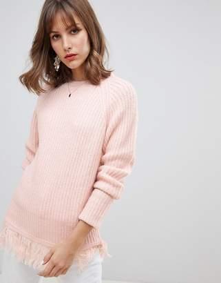 Vero Moda Tassel Hem Knitted Sweater