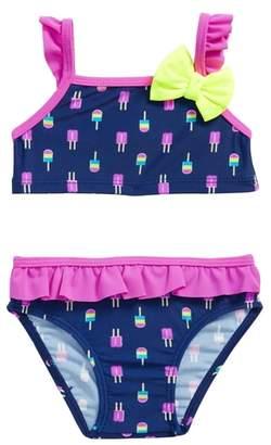 Sol Swim Neon Popsicles Two-Piece Swimsuit