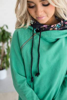 Ampersand Avenue DoubleHood Sweatshirt - Spring Blooms