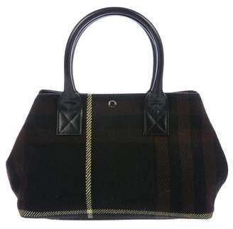 Burberry Abstract Check Handle Bag