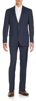 Regular-Fit Worsted Wool Suit $795 thestylecure.com