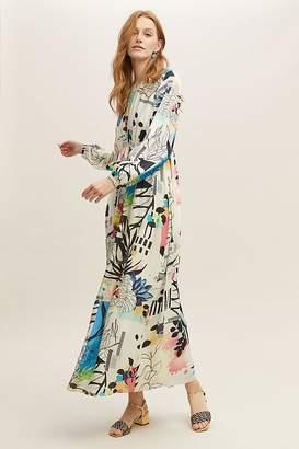 Genna Printed Maxi Dress
