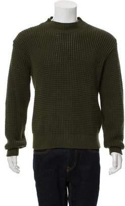 Leon Aimé Dore Waffle Knit Long Sleeve Sweater