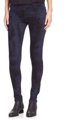 Emma Skinny Full Length Tie-Dyed Jeans