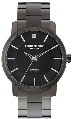 Kenneth Cole New York Analog Stainless Steel Bracelet Watch