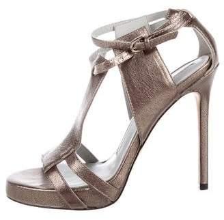 Camilla Skovgaard Metallic Ankle Strap Sandals
