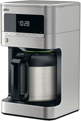 Braun Brew Sense 10-Cup Stainless Steel Coffee Maker
