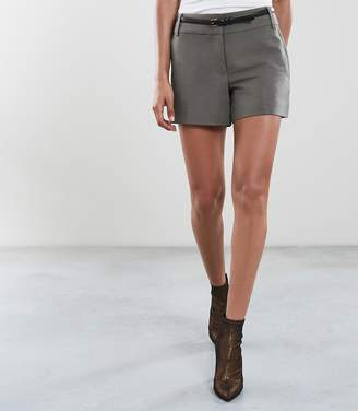 Reiss LYLA TAILORED SHORTS Sage Green