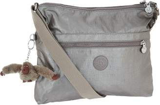 Kipling Nylon Double Zip Crossbody -Wren