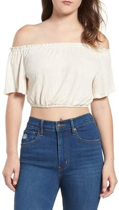 Ten Sixty Sherman Tie Back Off the Shoulder Top