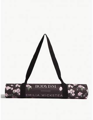 Emilia Wickstead Bodyism x Liv floral yoga mat