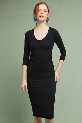 Michael Stars Ruched Dress $98 thestylecure.com