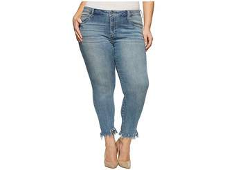 Lucky Brand Plus Size Ginger Skinny Jeans in Thoreau Women's Jeans