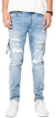 PATRON SAINT OF Phantom Skinny Fit Jeans in Vintage Blue Trash