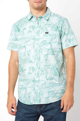 RVCA Blade Short Sleeve Button Down