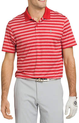 Izod Short Sleeve Stripe Polo Shirt