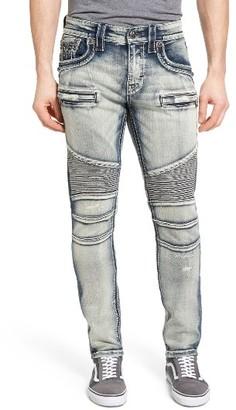 Men's Rock Revival Alternative Straight Leg Jeans $189 thestylecure.com