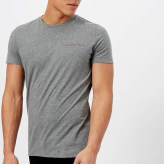 Calvin Klein Men's Chest Logo Slim T-Shirt