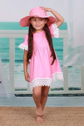 Mia Belle Girls Peachy Baby Doll Tunic (Toddler, Little Girls, & Big Girls)