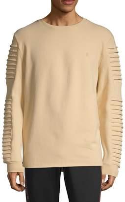 nANA jUDY Pleated Crewneck Sweater