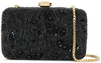 Elie Saab beaded chain clutch bag