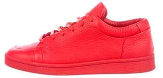 Balenciaga Leather Low-Top Sneakers