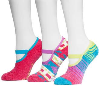 Muk Luks 3-pk. Aloe Mary Jane Socks