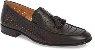 Mezlan Xian Perforated Tassel Loafer
