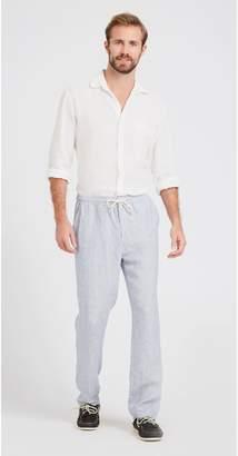 J.Mclaughlin Laird Linen Pants in Pincord Stripe