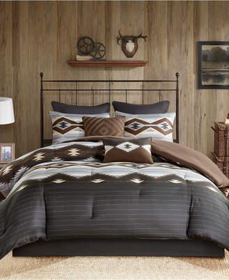 Woolrich Bitter Creek Reversible 8-Pc. Queen Comforter Set Bedding