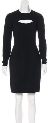 Michael Kors Wool Cutout Dress