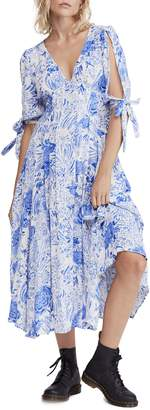 Free People Forever Always Relaxed-Fit A-Line Maxi Dress