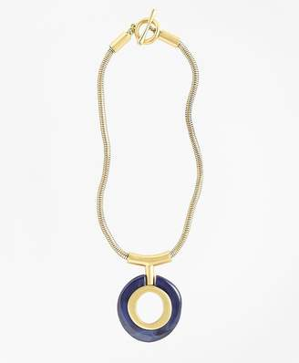 Gold-Plated Pendant Necklace $248 thestylecure.com