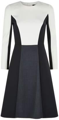 Paule Ka Panel Wool Dress