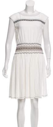 Prada Sleeveless Knee-Length Dress