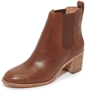 Madewell Franke Chelsea Booties $228 thestylecure.com
