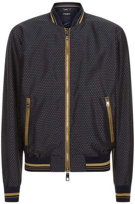 Dolce & Gabbana Geometric Bomber Jacket