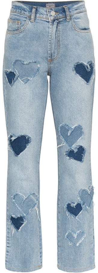 Ashley Williams Melrose Distressed Jeans