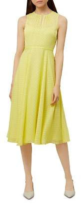 Hobbs London Emma Fil Coupe Dress