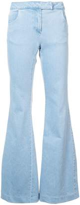 Rachel Zoe flared cuff trousers