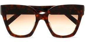 Marc Jacobs Square-Frame Tortoiseshell Acetate And Gold-Tone Sunglasses